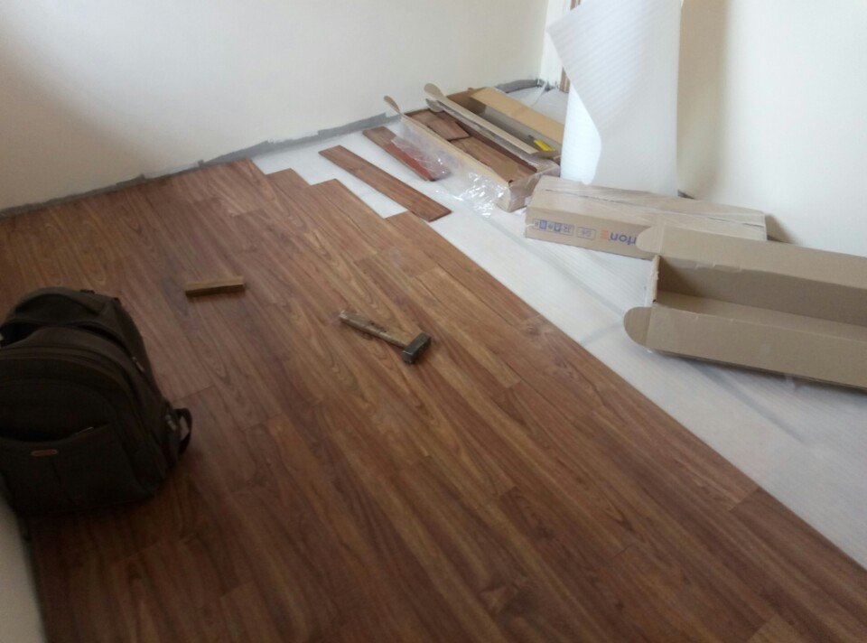 Lắp đặt sàn gỗ Florton FL606 tại Hà Nội