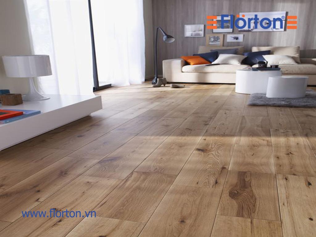 Sàn gỗ Florton là lựa chọn đúng đắn của người tiêu dùng thông thái.