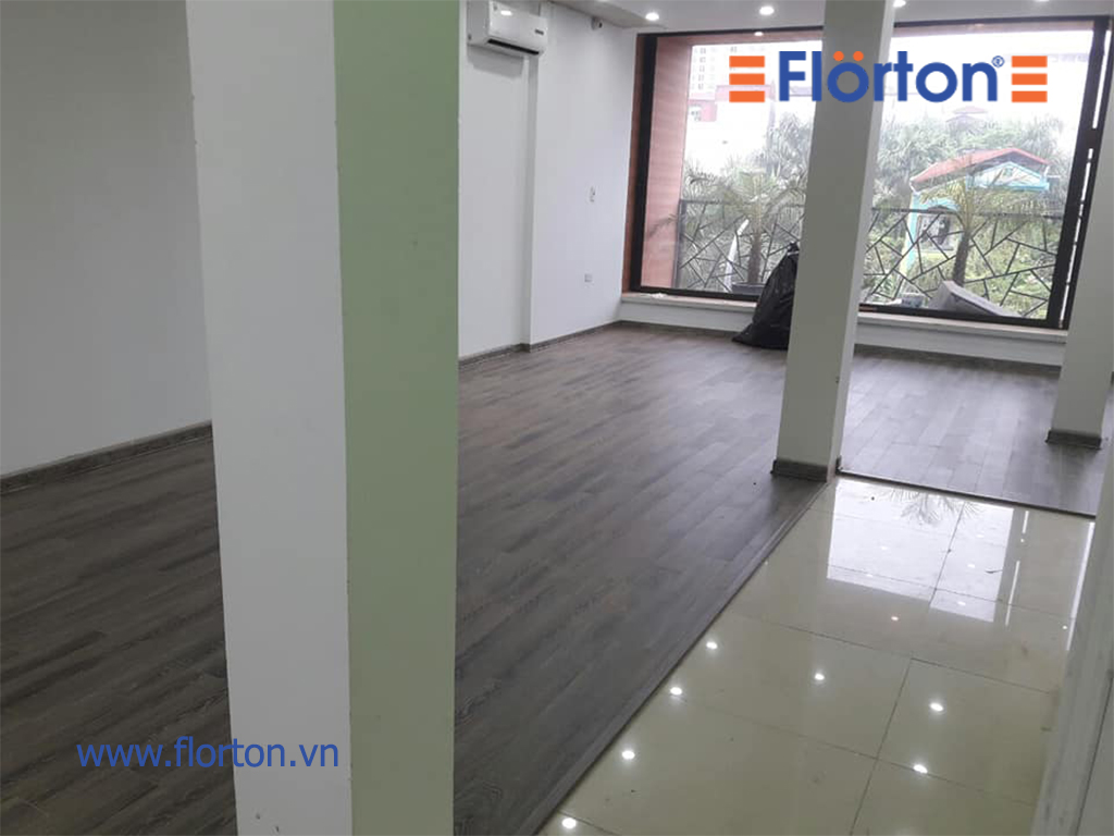 Sàn gỗ Florton mang lại sự năng động và cá tính.