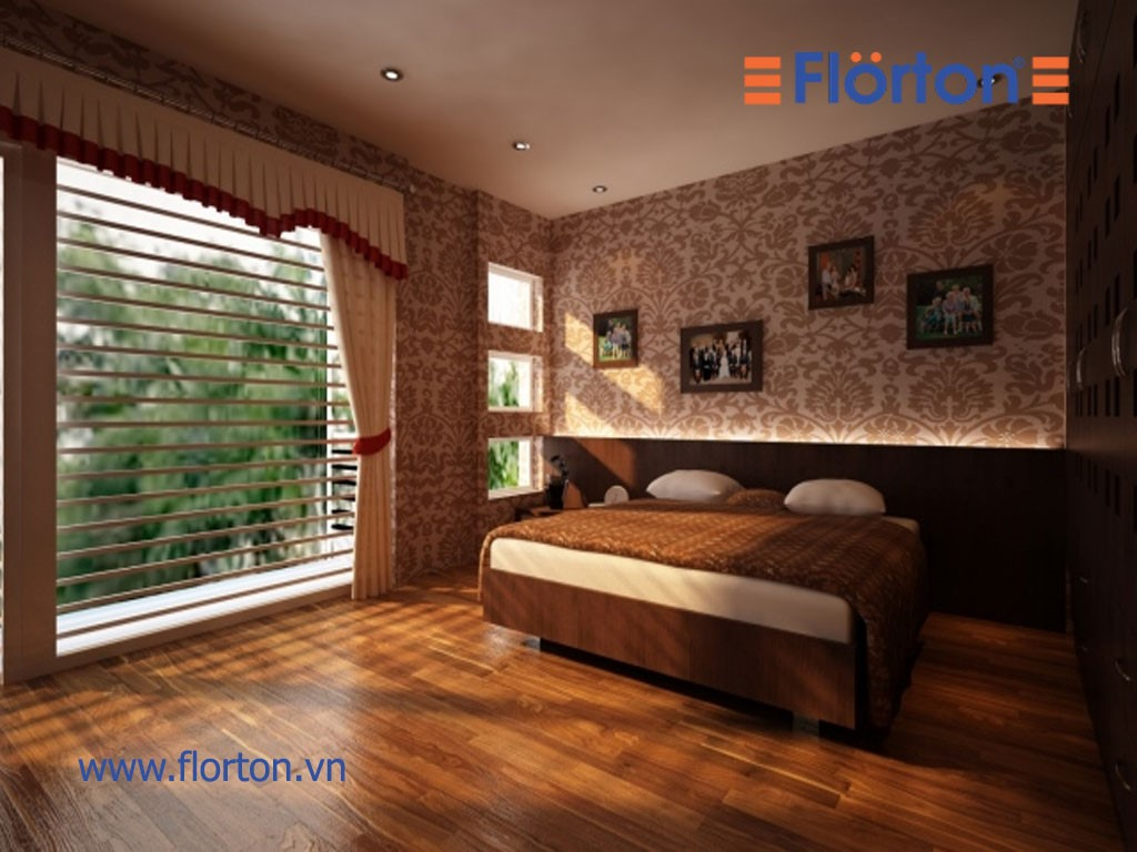 Sàn gỗ Florton mang lại vẻ đẹp, sang trọng cho không gian sống