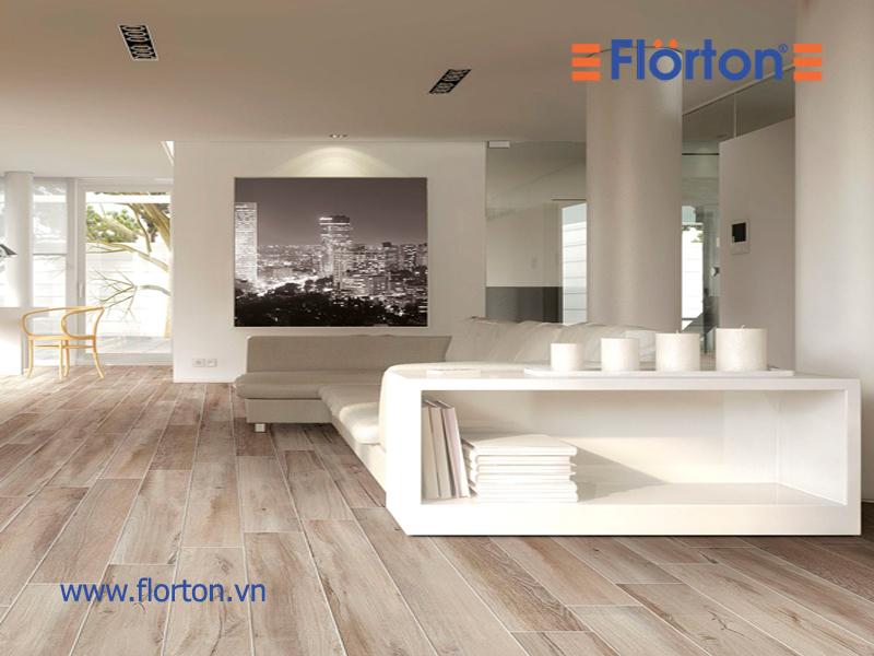 Sàn gỗ công nghiệp là sự lựa chọn cho không gian phòng khách