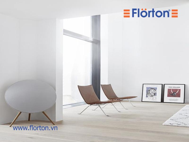 Mẹo nhỏ làm tăng độ bền, đẹp cho sàn gỗ Florton