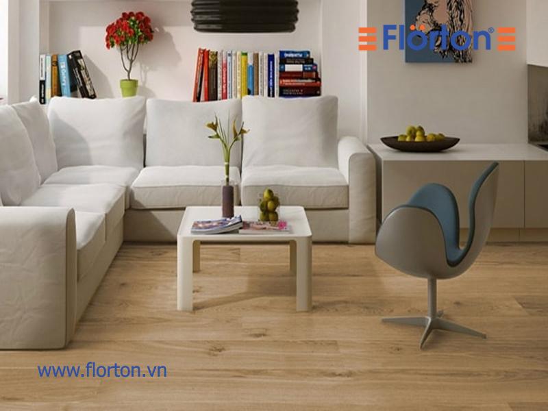 Sàn gỗ Việt Nam lắp đặt phòng khách