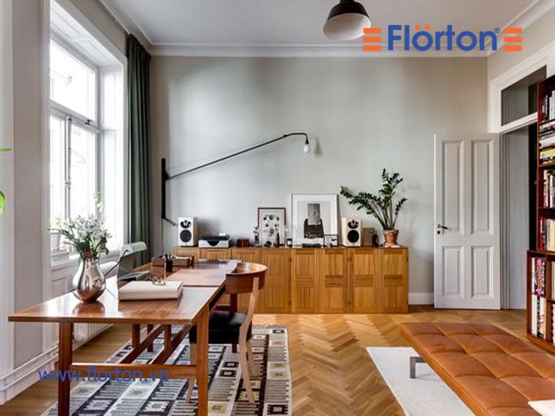 Sàn gỗ công nghiệp Florton đáp ứng được hầu hết các yêu cầu của công trinh