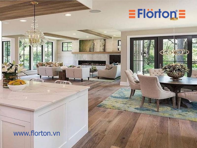 Sàn gỗ Florton được đánh giá cao về chất lượng và độ ổn định trong kết cấu được yêu thích hiện nay