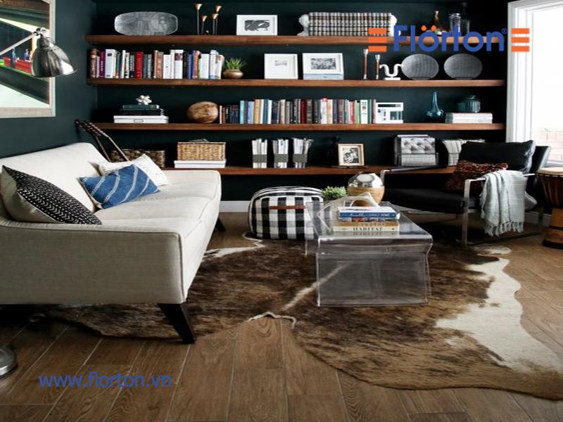 Sàn gỗ công nghiệp được phân phối bởi công ty Cổ phần XNK THáng Giêng