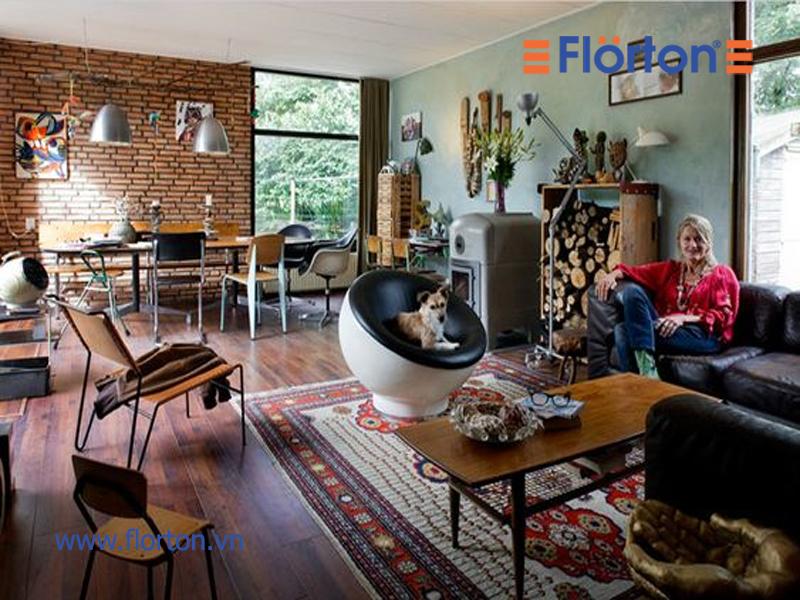 Sàn gỗ công nghiệp phản ánh cá tính và phong cách của gia chủ